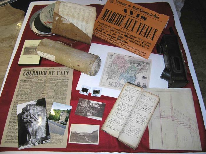 Journées du patrimoine 2018 - Les coulisses des archives de l'Ain en visite commentée.