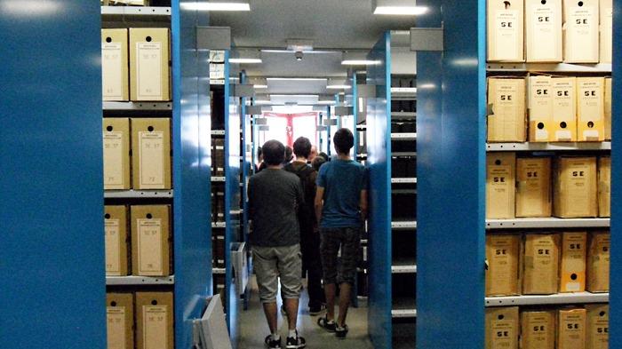 Crédits image : Archives départementales de la Loire, magasin de conservation