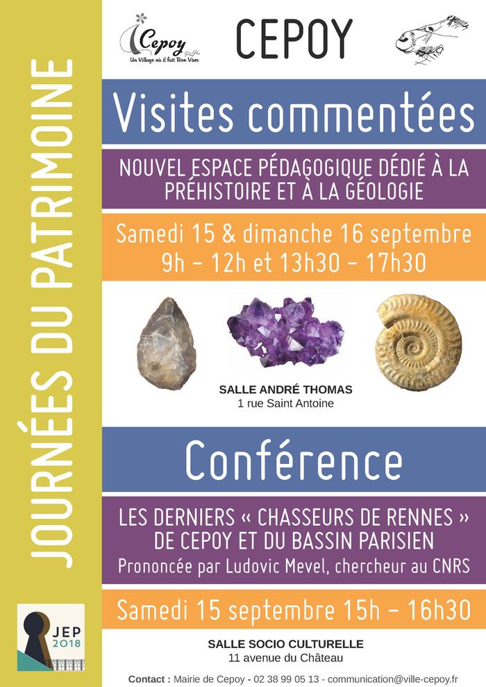 Journées du patrimoine 2018 - Conférence : les derniers