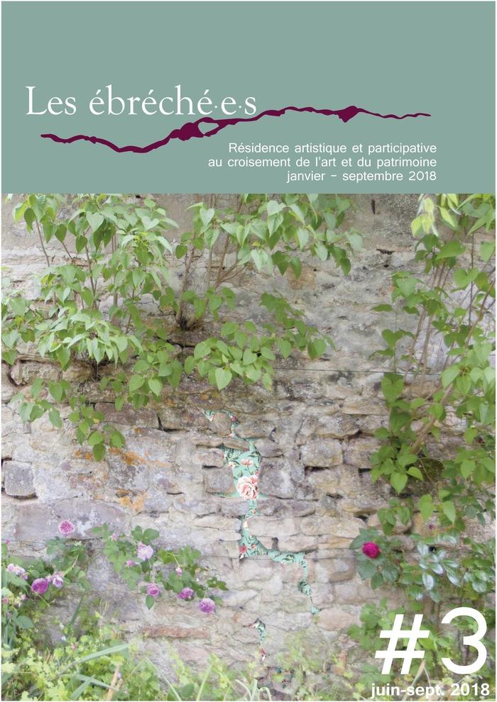 Journées du patrimoine 2018 - Les ébréché.e.s, résidence artistique : réalisation collective mêlant patrimoine bâti et intervention contemporaine
