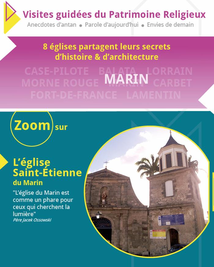 Journées du patrimoine 2018 - Zoom sur l'église Saint-Etienne du Marin