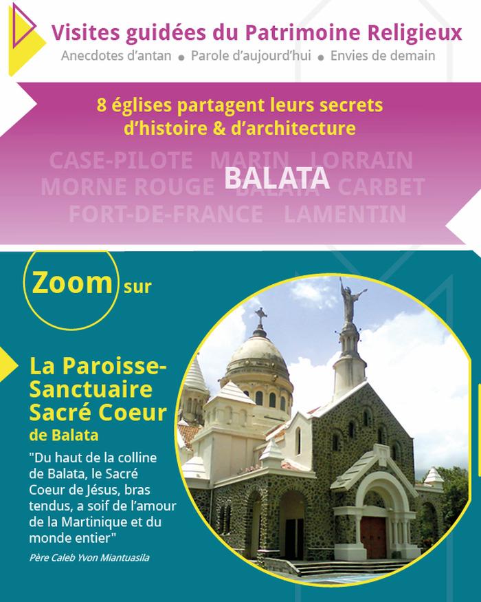 Journées du patrimoine 2018 - Zoom sur la Paroisse-Sanctuaire Sacré-Coeur à Balata