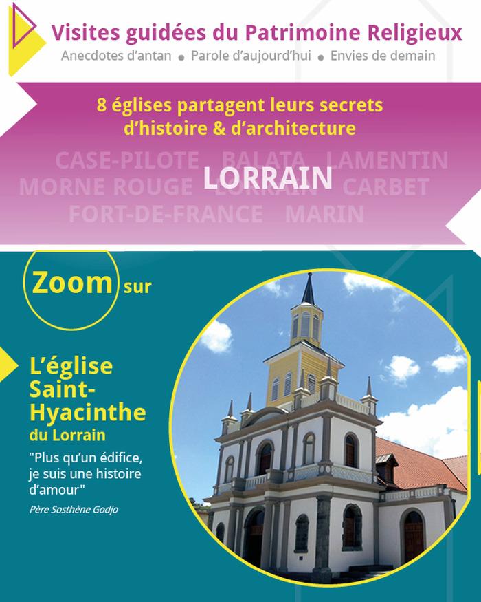 Journées du patrimoine 2018 - Zoom sur l'église Saint-Hyacinthe du Lorrain