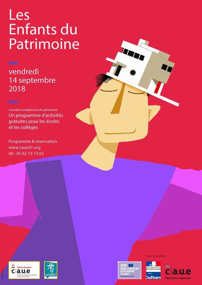 Journées du patrimoine 2018 - Les Enfants du Patrimoine - Périple et rallye pédagogiques