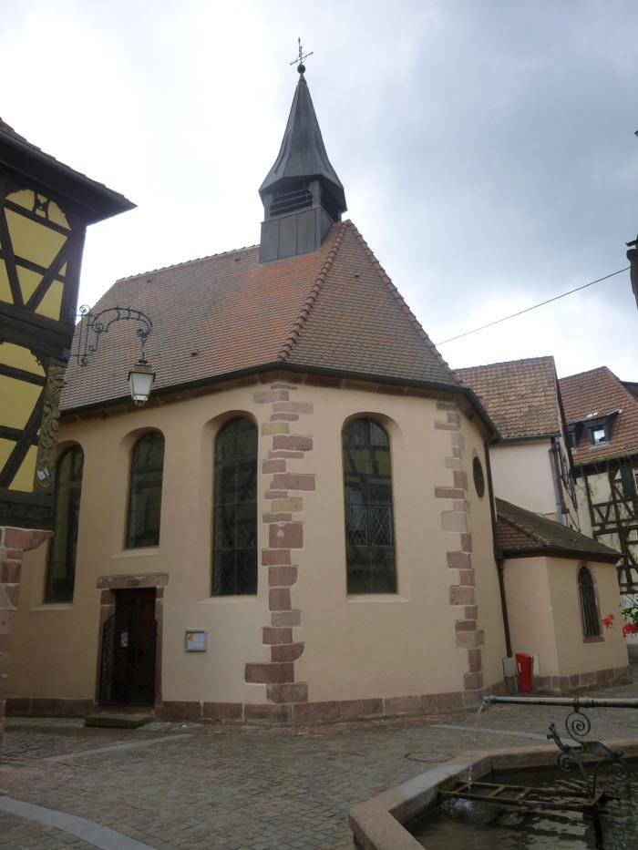 """Crédits image : Chapelle Sainte-Catherine - Jean Wolschlegel """"association de sauvegarde du patrimoine de Soultzbach-les-Bains"""