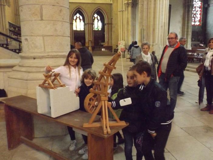 Journées du patrimoine 2018 - Les engins de levage : ateliers pour enfants et adultes