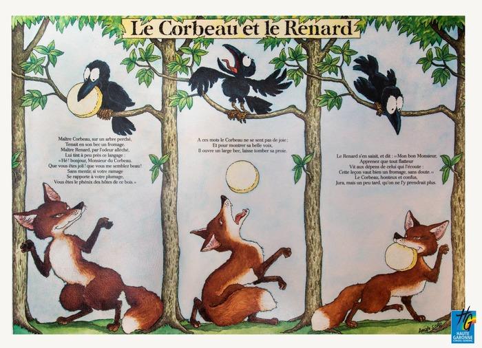 Exposition - Les fables de Jean de la Fontaine