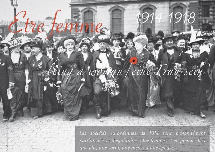 Journées du patrimoine 2018 - Exposition : les femmes dans la Grande Guerre - partage d'ombres et de lumières