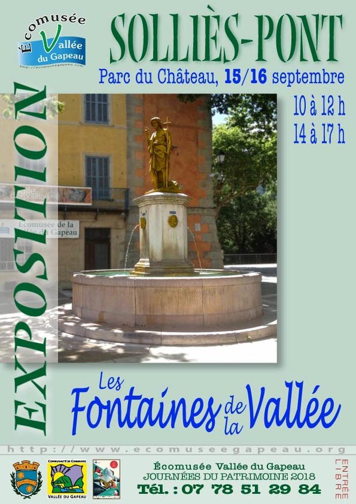 Journées du patrimoine 2018 - Les fontaines de la vallée