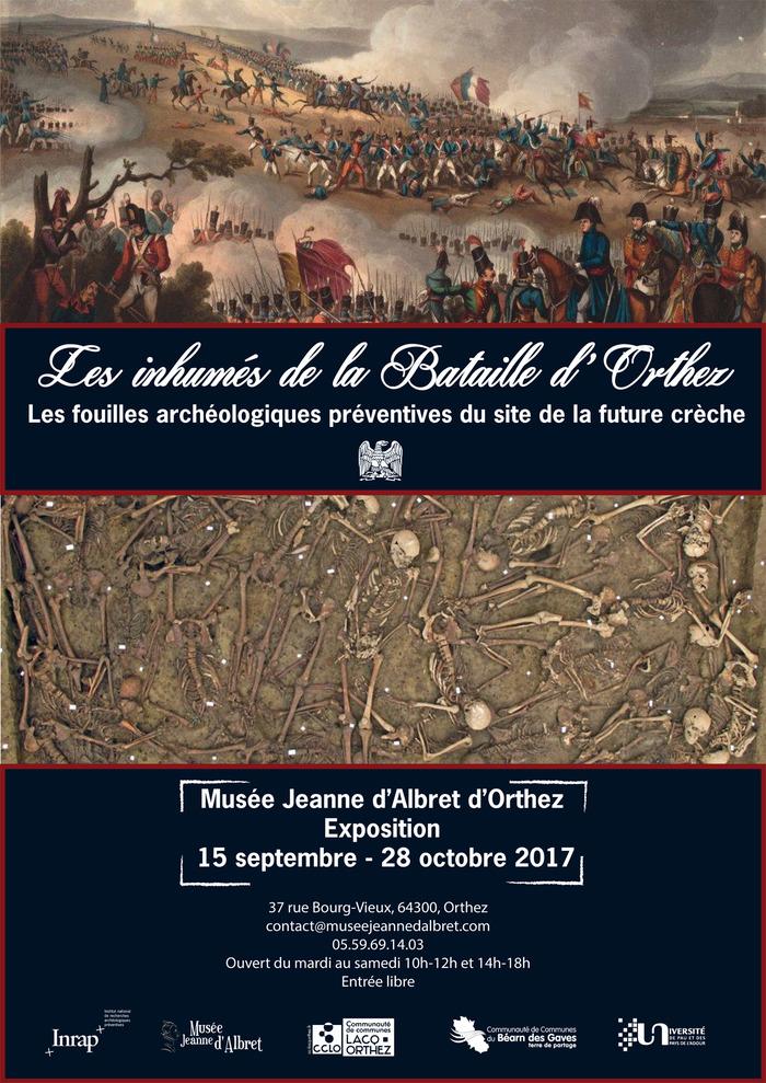 Journées du patrimoine 2017 - «Les Inhumés de la Bataille d'Orthez»