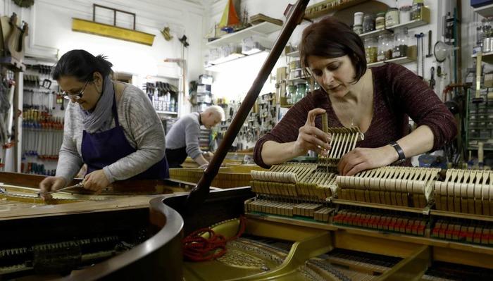 Journées du patrimoine 2018 - Les JEP 2018 à l'atelier des Pianos Balleron