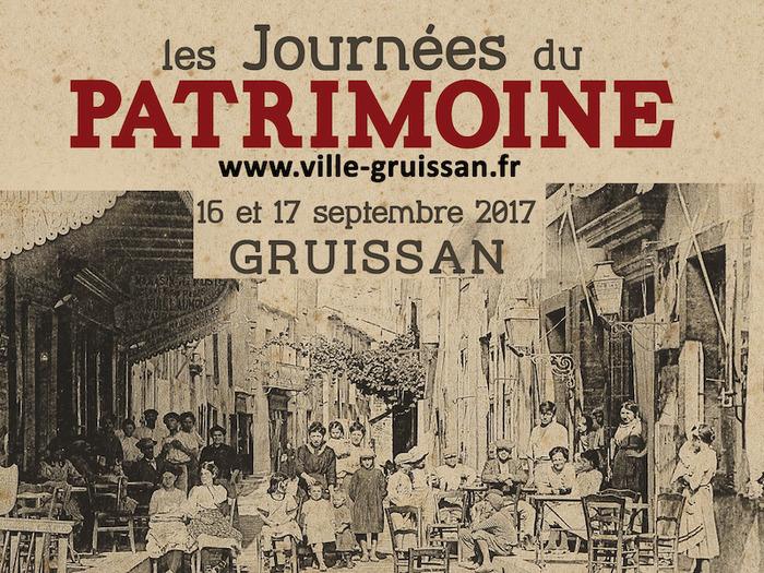 Journées du patrimoine 2017 - Les journées du Patrimoine à Gruissan