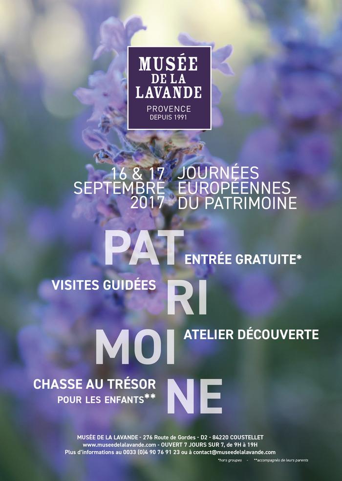 Journées du patrimoine 2017 - Les Journées Européennes du Patrimoine au Musée de la Lavande