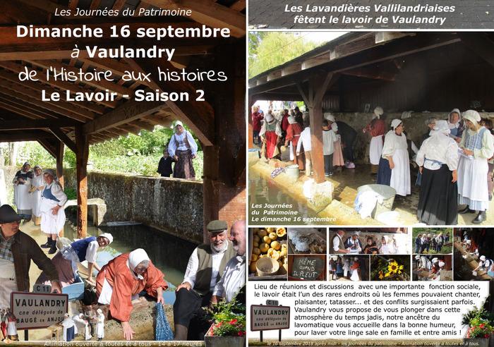 Journées du patrimoine 2018 - Les Lavandières, le retour !