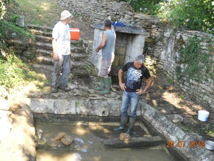 Journées du patrimoine 2018 - Les lavoirs de la Font Rivaud à Saint-Simeux