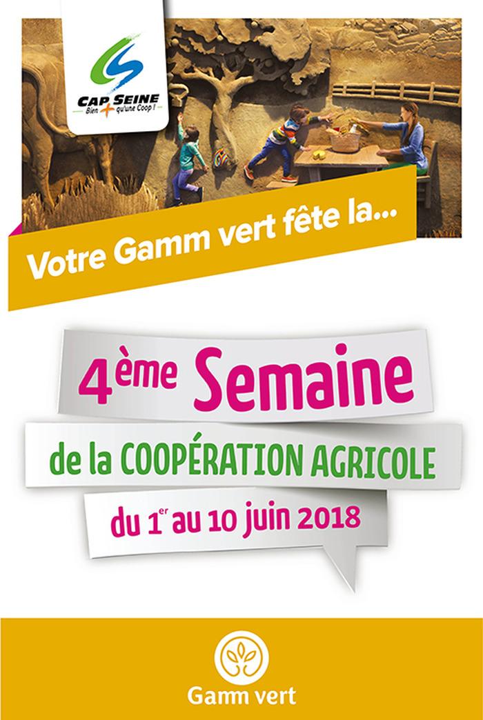 Les magasins Gamm Vert du groupe Cap Seine, mobilisés pour la Semaine de la Coo…