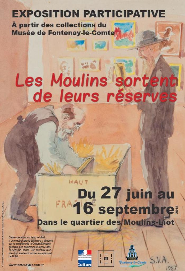 Journées du patrimoine 2018 - Les Moulins sortent de leurs réserves