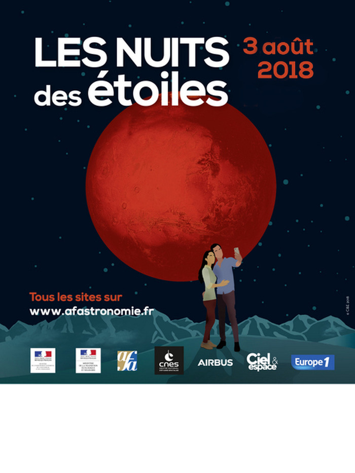 Les Nuits des étoiles 2018