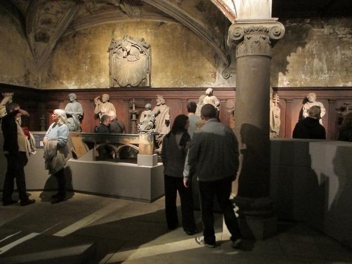 Crédits image : Musée de l'Oeuvre Notre-Dame, photo: Mathieu Bertola