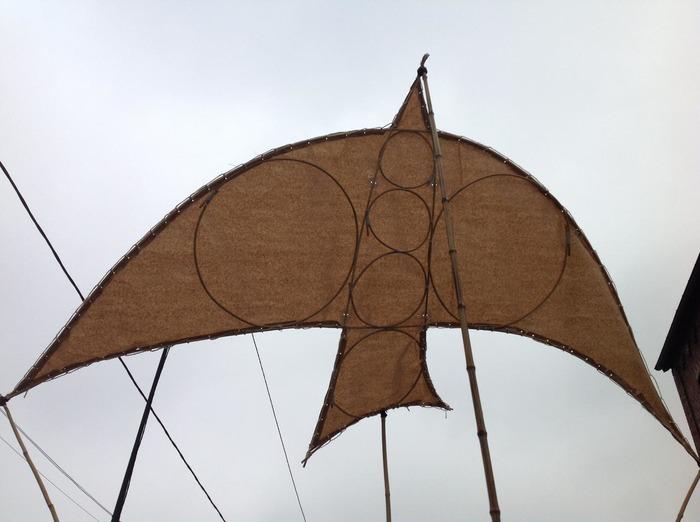 Crédits image : Marionnette à vent, copyright compagnie les Rémouleurs