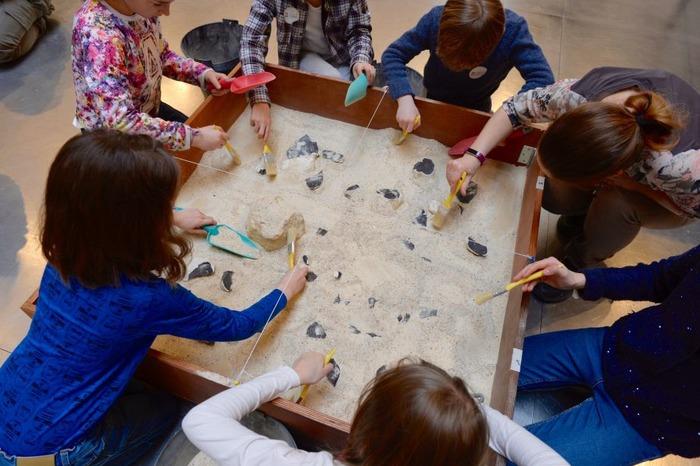 Journées du patrimoine 2018 - Les p'tits paléontologues