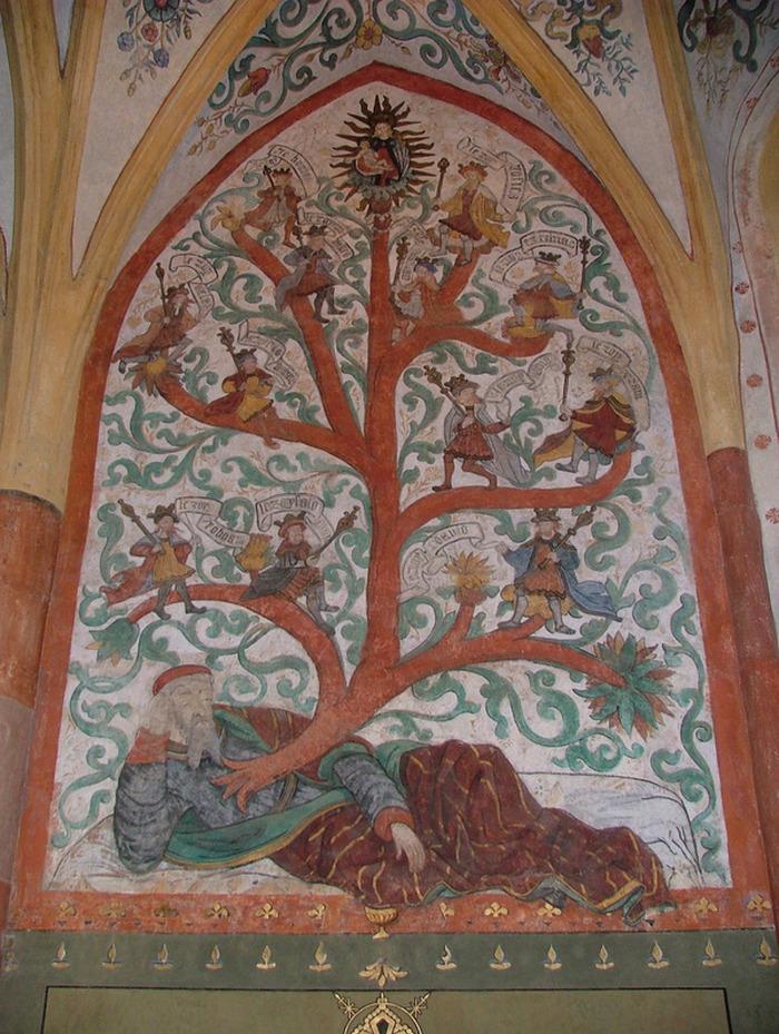 Journées du patrimoine 2019 - Les peintures murales de l'église Saint-Martin