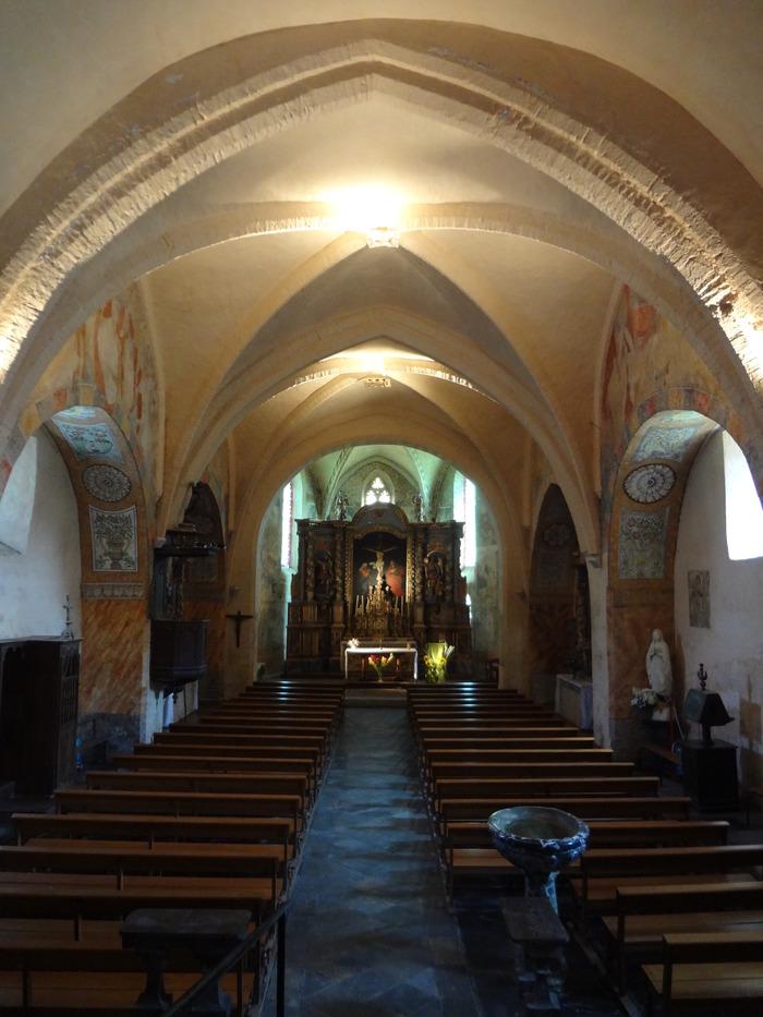 Journées du patrimoine 2018 - Les peintures murales de l'église Saint-Michel de Montaner