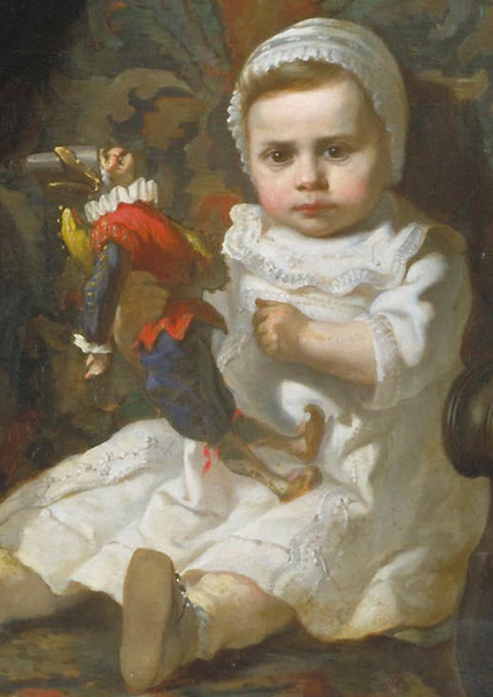 Crédits image : © Jules Garipuy, Le Pantin de bébé (détail). Photo Ville de Toulouse