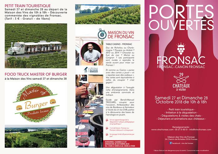Les portes ouvertes Fronsac - Canon Fronsac