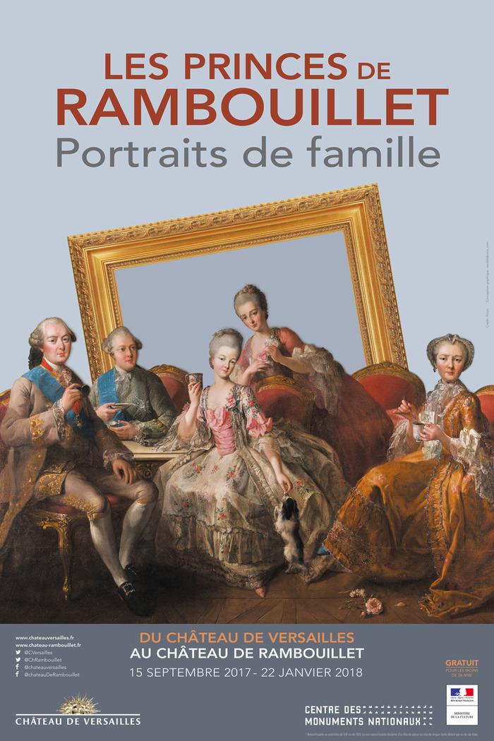 Journées du patrimoine 2017 - Les Princes de Rambouillet. Portraits de famille