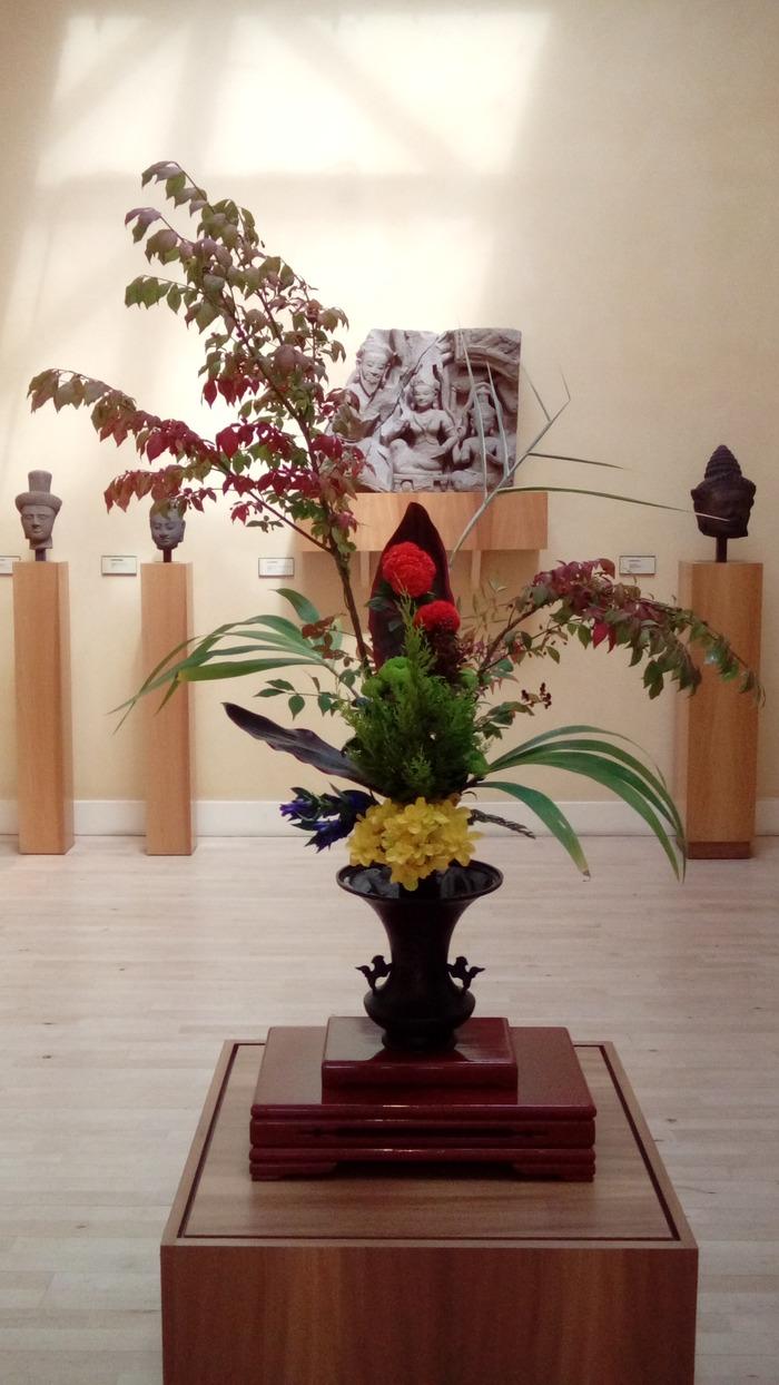 Journées du patrimoine 2018 - Les Printemps et les Automnes - Exposition d'Ikebana