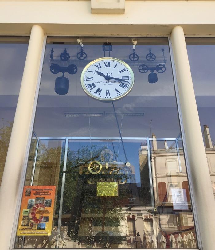 Journées du patrimoine 2018 - Les secrets d'une horloge mécanique monumentale installée à l'origine dans le clocher de l'église Saint Christophe