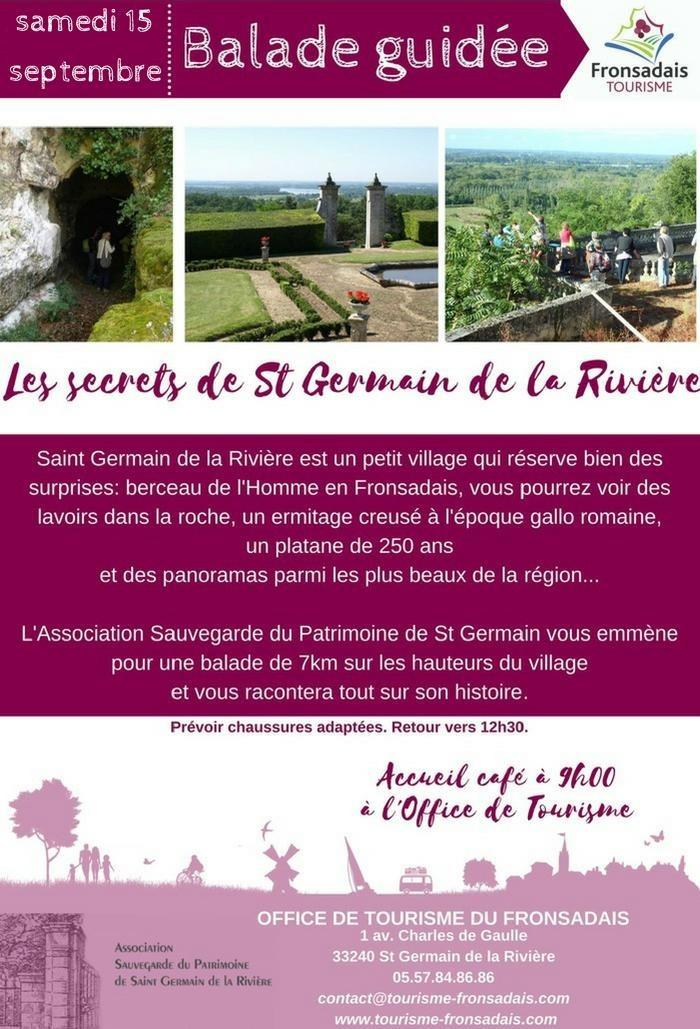 Journées du patrimoine 2018 - Les secrets de Saint-Germain