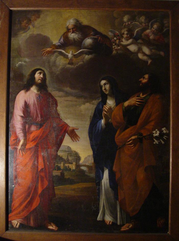 Journées du patrimoine 2018 - Les tableaux de l'église Saint-Vincent.