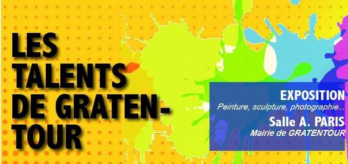 Les Talents artistiques et culturels de Gratentour s'exposent - Du 5 au 25 juin