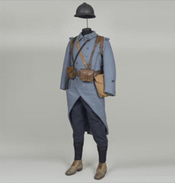 Crédits image : © Chasseur du 8e bataillon de chasseurs à pied, musée de l'armé, les Invalides