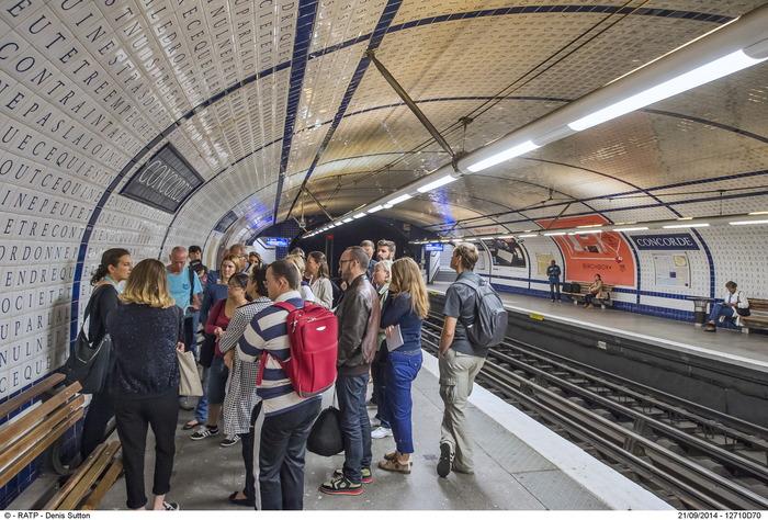 Journées du patrimoine 2018 - Les trésors et les secrets du métro parisien