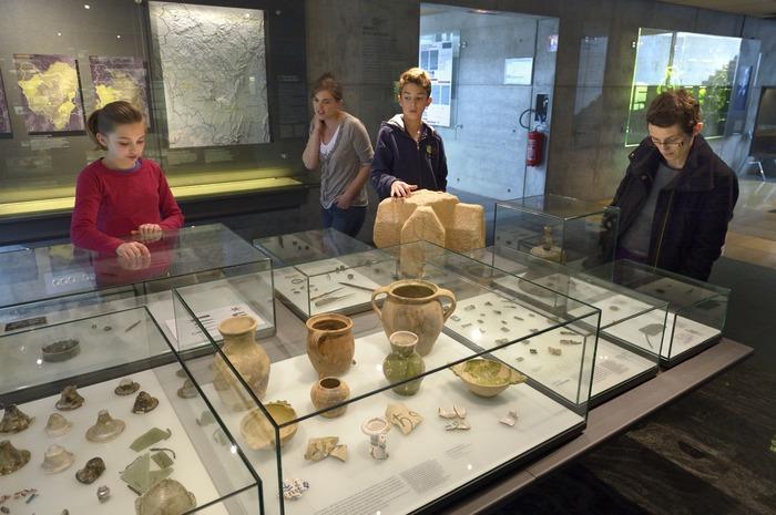 Journées du patrimoine 2018 - Les vestiges du couvent franciscain de Bibracte conservés au musée