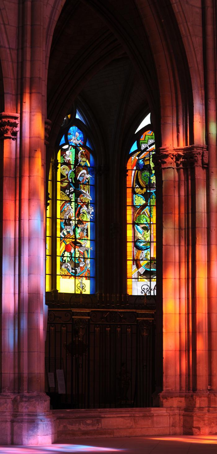 Journées du patrimoine 2018 - Les vitraux de Jean-Michel Alberola