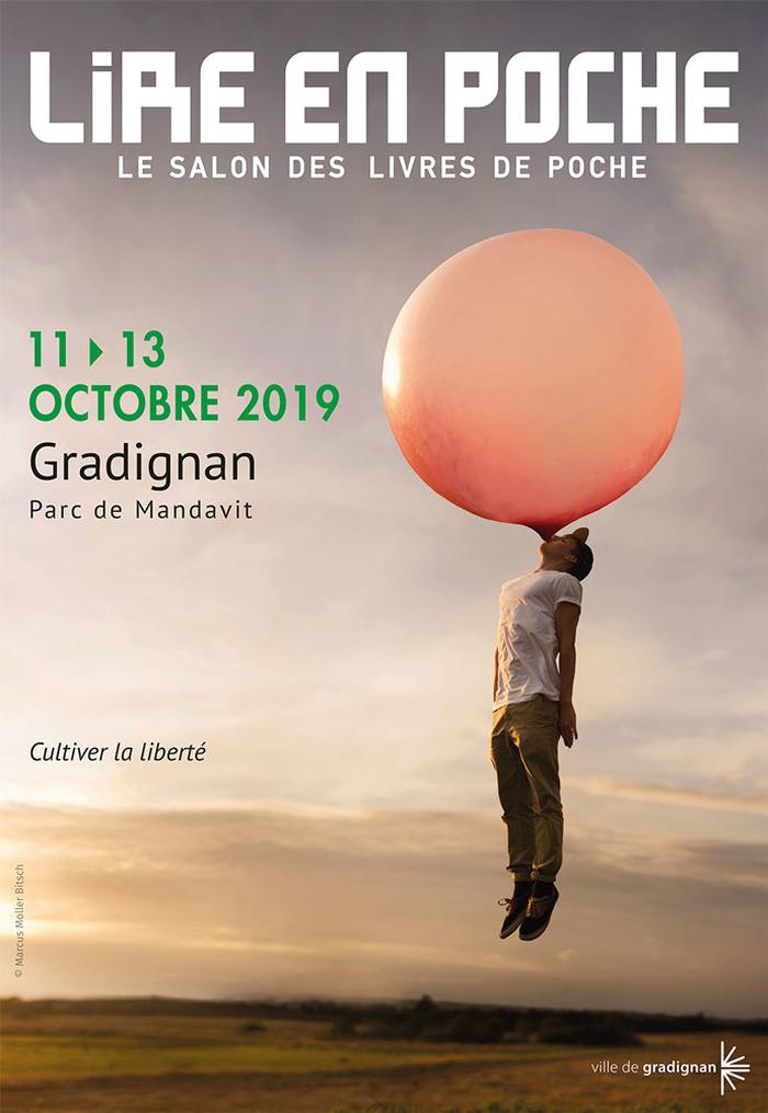 Les 11, 12 et 13 octobre 2019, le salon des livres de poche vous invite à fêter sa quinzième édition au Parc de Mandavit (Gradignan).