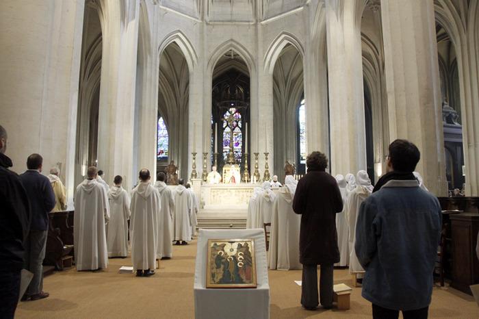 Liturgies monastiques à Saint-Gervais (Paris)
