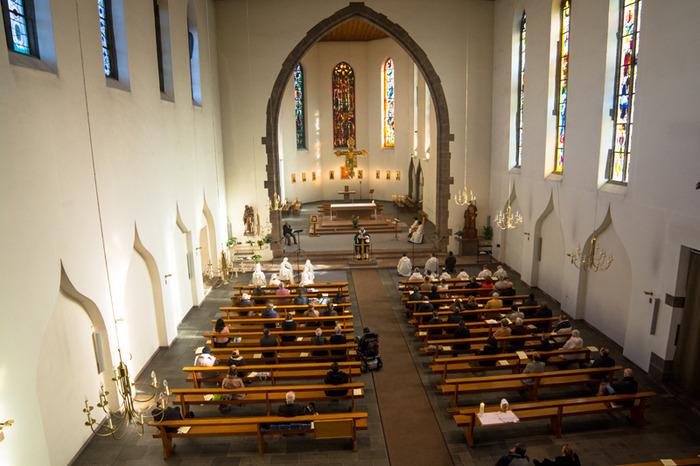 Liturgies monastiques à Saint-Jean (Strasbourg)