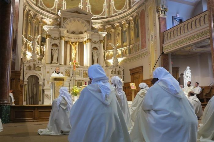 Liturgies monastiques au Sanctuaire du Saint-Sacrement (Montréal)