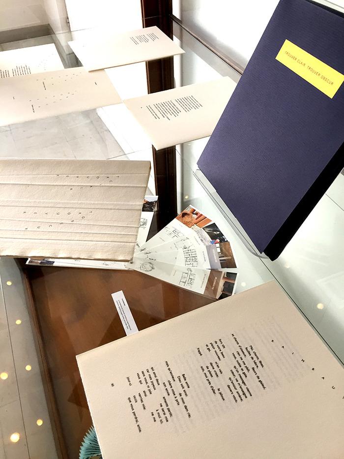 Journées du patrimoine 2018 - Livres d'artiste & artist's book