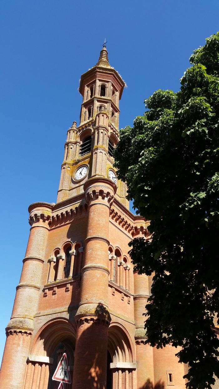 Crédits image : Église de Meauzac ©Office de tourisme du Pays Lafrançaisain