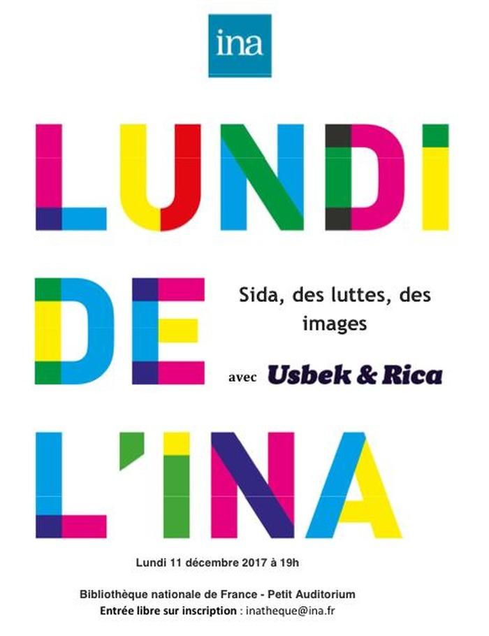 Lundi de l'Ina : Sida, des luttes, des images