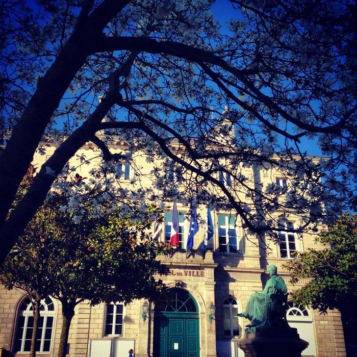 Journées du patrimoine 2018 - Visite libre de l'Hôtel de Ville, en compagnie d'élus municipaux et communautaires.