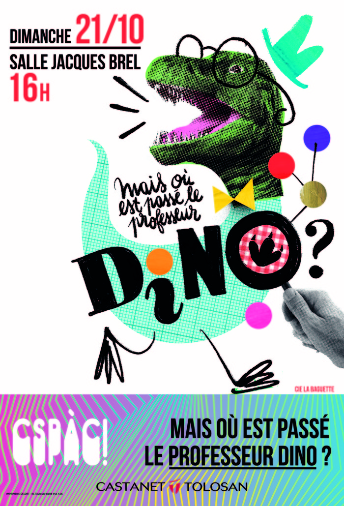Mais où est passé le professeur Dino ?