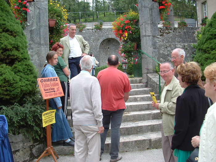Journées du patrimoine 2017 - Visite guidée de la Maison de Boigne