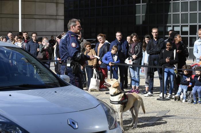 Journées du patrimoine 2018 - Maîtres-chiens des douanes
